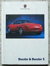 PORSCHE BOXSTER & BOXSTER S 1999 HARDBACK Sales Brochure #WVK 165 220 00 E/WW