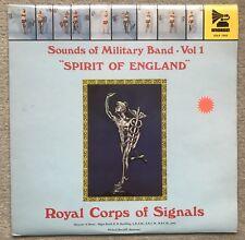 "ROYAL CORPS OF SIGNALS ""Spirit of England""  Indigo GOLP 7003"