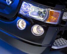 4 Rings Acier Inoxydable Avant Phare Antibrouillard Décorations pour Scania