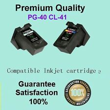 2x ink Canon PG-40 CL-41 for Printer MP150 210 450 MX300 310 JX200 JX500 PG-40XL