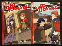 Off Beat 1, 2 Manga Tokyopop OOP English Drama Romance Shonen Ai