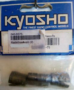 KYOSHO Radachse vorn (2) BS 75 neu/ovp