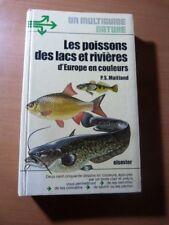 Les poissons des lacs et rivières d'Europe en couleurs