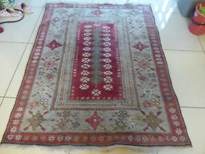 """Gorgeous Multicoloured patterned  style rug 64"""" x 52"""""""