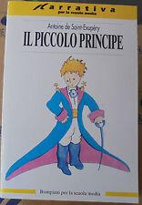 IL PICCOLO PRINCIPE - ANTOINE DE SAINT-EXUPERY - BOMPIANI SCUOLA
