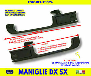 Maniglie Fiat Panda Hobby Apriporta Interne auto DX SX portiere sportelli per 2