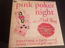 NEW SEALED Bridal Shower Game PINK POKER NIGHT University Games