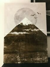"""Zenith by Tracie Andrews, Metal Art Print, Mountain Sunrise with Birds 10""""x14"""""""