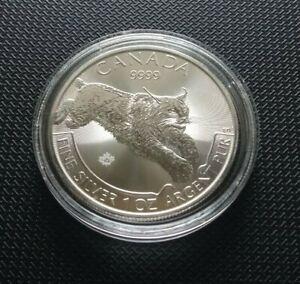 Kanada ° 5 Dollars 2017 ° Luchs ° Silber 9999/1000 1 oz. Feinsilber - 31,1g