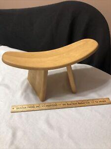 BLUECONY Ikuko Original Meditation Bench Travel Version Wooden Kneeling Canada