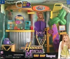 NEW DISNEY CHANNEL HANNAH MONTANA RICO'S TIKI SURF SHOP HANGOUT DOLL PLAYSET
