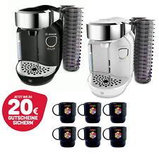 Bosch Tassimo Carrito + Vales + 6x Tupper Taza Máquina de Café