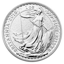 UK Britannia Uncertified Silver Bullions