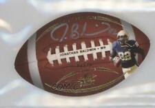 2011 Leaf Ultimate Draft Football Die-Cuts Gold /20 Jonathan Baldwin Rookie Auto
