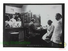 """Matted 8""""x6"""" old photograph western medicine clinic in ROC China before 1949s"""