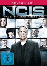 NAVY CIS - SEASON 10.1 MB  3 DVD NEU COTE DE PABLO/MARK HARMON/SEAN MURRAY/+