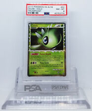 Pokemon HGSS TRIUMPHANT CELEBI PRIME #92 HOLO FOIL CARD PSA 8 NM-MINT #*