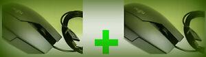 1X Maus Fujitsu Optische USB, Anthrazit 3 Tasten m Scroll-Rad und 1X dazu Gratis