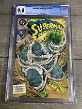 CGC 9.8- Superman: Man of Steel #18 1st full Doomsday 🔥