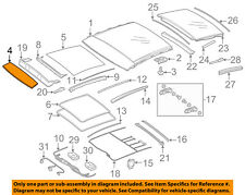 MERCEDES OEM 15-18 GLA250 Sunroof-Front Glass 1567801200