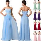 PLUS SIZE Sequin Chiffon Bridesmaids DRESS Party Cocktail Prom Evening Maxi 6-20