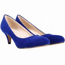 Womens High Heels Shoes Pointed Pumps OL Stiletto Wedding Party Casual Shoes New