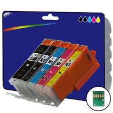 1 Set Compatible Impresora Cartuchos De Tinta Para Canon Pixma mx725 Impresora [ 550/1 ]