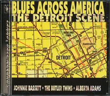 Johnnie Bassett, Butler Twins - Blues Across America: The Detroit Scene CD