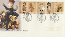 Australia 1997 Dolls and Bears FDC (Camberwell, VIC)
