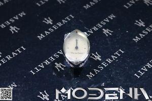 Maserati Silver White Oval Watch Board Watch Maserati 3200 4200 Gransport MC12