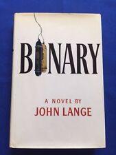 BINARY - FIRST EDITION BY MICHAEL CRICHTON WRITING AS JOHN LANGE