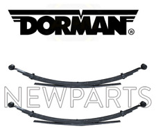 For Chevrolet GMC C2500 K2500 K1500 Set Pair of 2 Rear Leaf Springs Pack Dorman