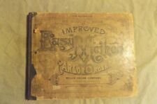 Antique 1886 Book New Enlarged Edition Improved Parlor Organ Miller Organ Co.