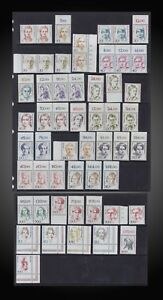 1986 -2000 GERMANY FAMOUS PERSONALITY WOMEN'S + LABEL SCT 1475 -1494 1723 -34