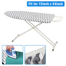"""Ironing Board Cover Coated Thick Padding Heat Resistant And Scorch Pad 15"""" x 54"""""""