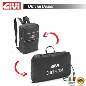 GIVI T521 Bag Backpack Quickpack 15 L Ultra Compact For Suitcases Aluminum