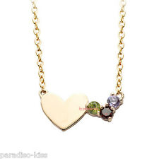Collana da Donna Cristallo Swarovski Elements Cuore Multicolore A143