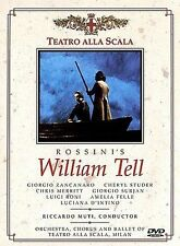 ROSSINI William Tell (La Scala) DVD 2-Disc Set NEW factory sealed
