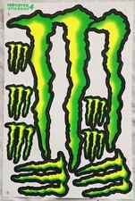 8 Monster Energy Drink Claw Stickers For Dirt Bike MTB Motocross Helmet BMX Quad