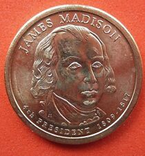 El presidente de Estados Unidos 2007 dólar James Madison Menta D circulado