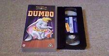 Dumbo WALT DISNEY CLASSIC UK PAL VHS VIDEO 1995 Sterling Holloway