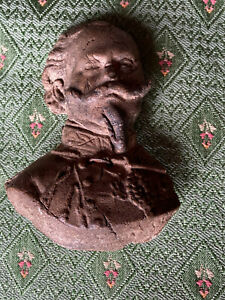 RARE ANCIENT Vitt. Emanuele II : Stunning cast in clay - Teano , October 26,1860