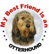 2 Otterhound Dog Car Stickers By Starprint - Auto combined postage