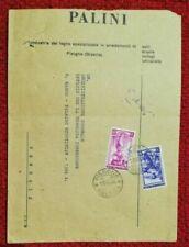 Francobolli della Repubblica italiana dal 1956 al 1964 buste