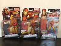 Marvel Legends Iron Man Action Figure Lot