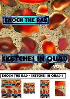 """Enoch the Rad """"SKETCHES IN QUAD vol 1"""" - DISCRETE Quadraphonic Reel tape"""