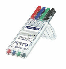 Staedtler 301WP4 Whiteboard Pen Assorted Colours - 4 Pieces