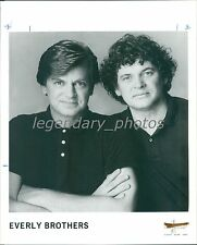 1993 Portrait of the Everly Brothers Original News Service Photo
