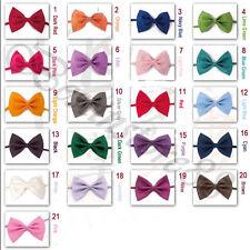 10PK Dog Cat Pet Puppy Toy Kid Cute Bow Tie Necktie Clothes 20 Colors