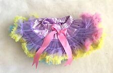 Rainbow Multi Easter FLUFFY Pettiskirt Petticoat Tutu - Size S= 24M Photo Prop